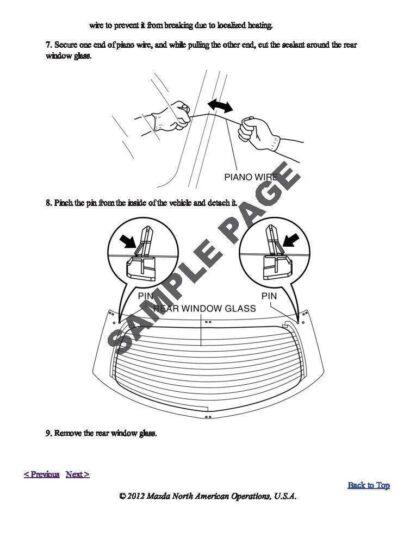 Mazda 2 De Series 1 & 2 Repair Manual Instant Download