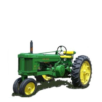 John Deere Model 50 Tractor Parts Manual Catalog Instant Download