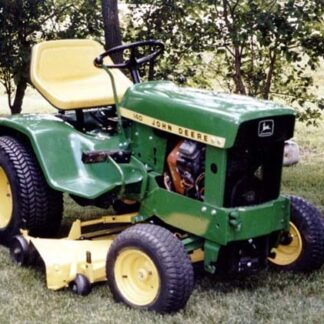 John Deere 140 Hydrostatic Tractor Repair Manual Instant Download