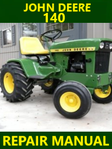 John Deere 140 Repair Manual Instant Download