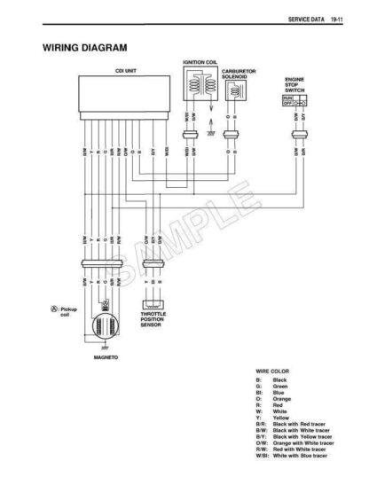Suzuki RM250 RMX250 RM & RMX 250 Repair Manual Instant Download 2