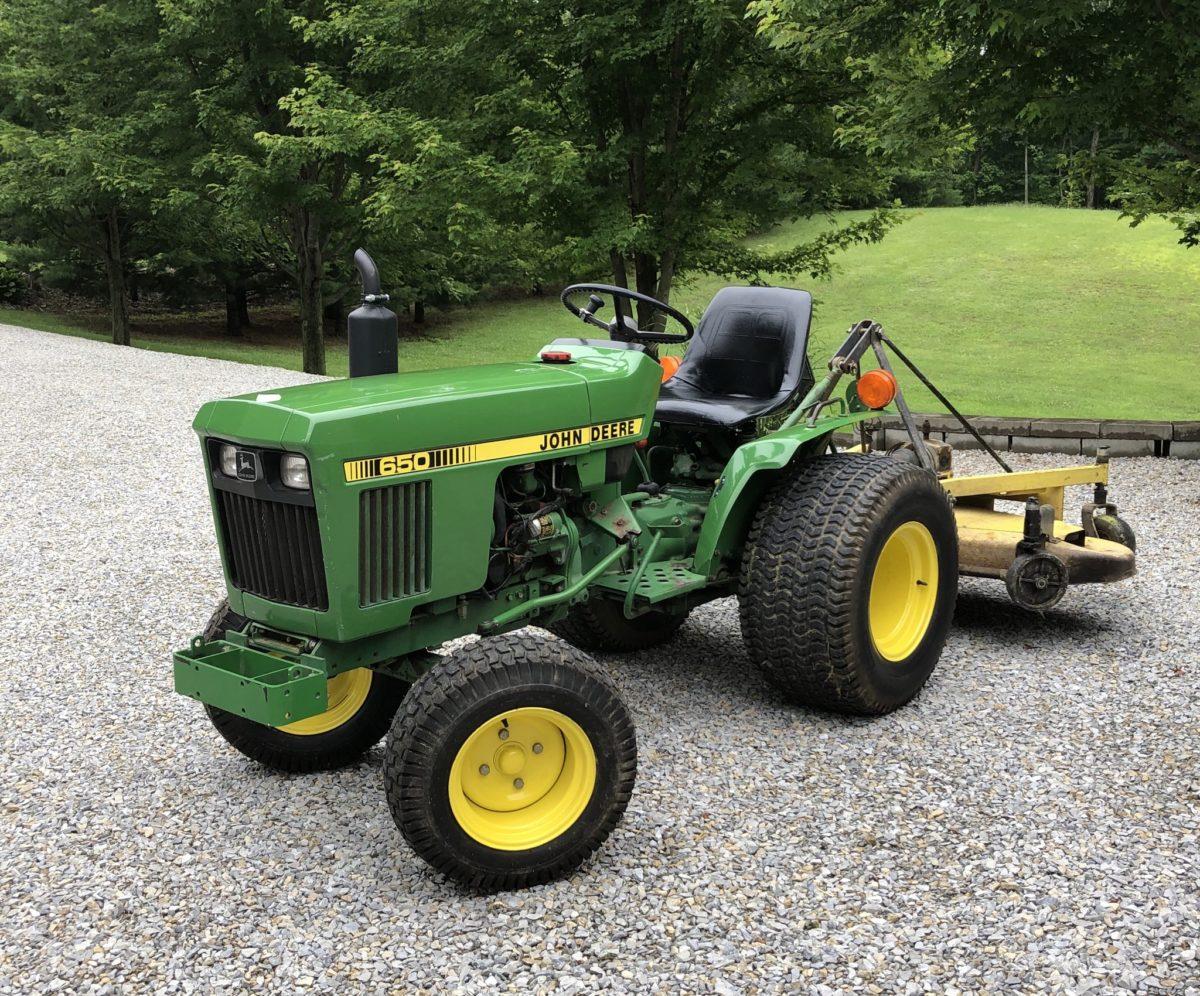 John Deere 650 750 Tractor Repair Manual Instant Download