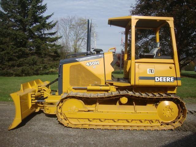 John Deere 450H 550H 650H Operator Manual Instant Download