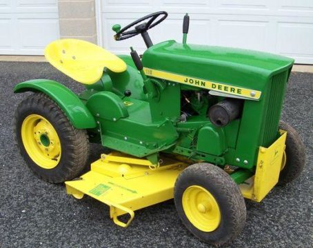 JOHN DEERE 110 AND 112 TRACTOR OPERATOR MANUAL