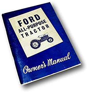 Ford 2000 and 4000 Series (1962-1964) Tractors Manual