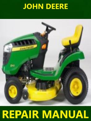John Deere D100 D110 D120 D130 D140 D150 D160 D170 Repair Manual Instant Download