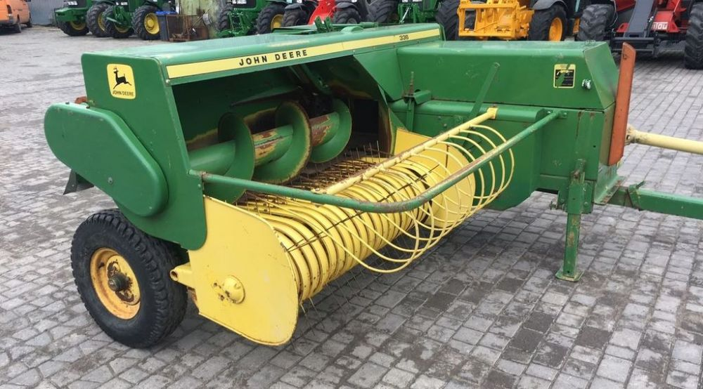 John Deere 336 Series Baler Manual