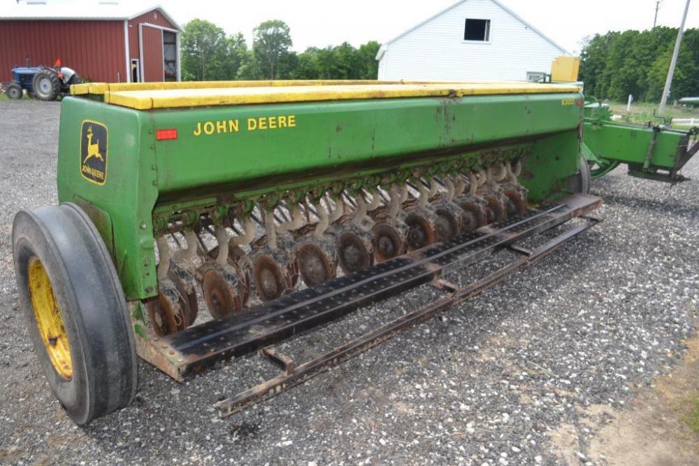 John Deere 8000 Series Grain Drills Manual