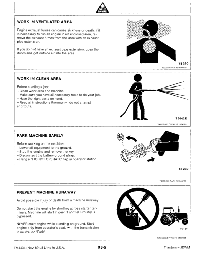 John Deere 2355 2555 2755 2855N Manual Instant Download