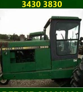 John Deere 3430 3830 Repair Manual Instant Download