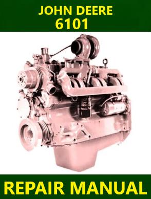 John Deere 6101 Repair Manual Instant Download