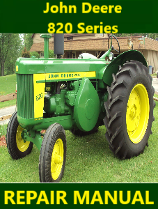 John Deere 820 Series Repair Manual Instant download