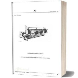 John Deere 218 Draper Platform parts Manual