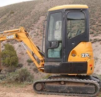 John Deere 27C ZTS 35C ZTS TM2053 excavator Repair Service Manual Instant Download